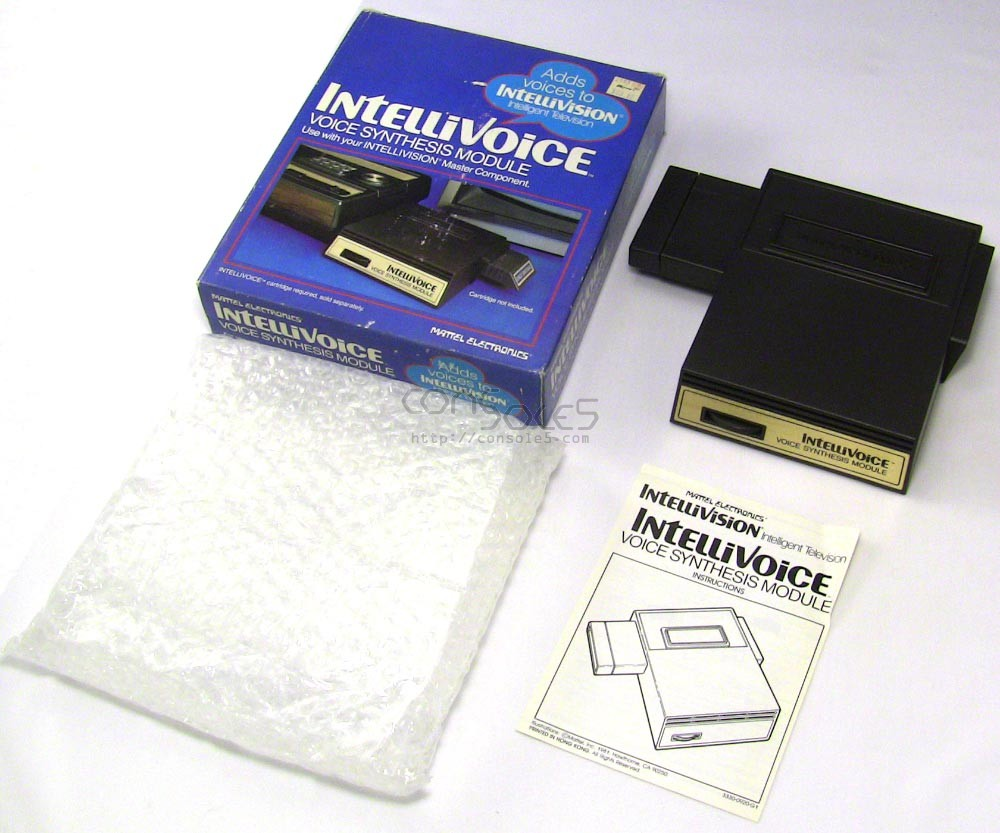 Mattel Intellivoice add-on for Intellivision - Complete in Box