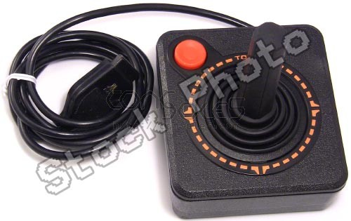 Atari CX40 Joystick - Best Gold Rebuild