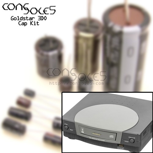 Goldstar 3DO Cap Kit