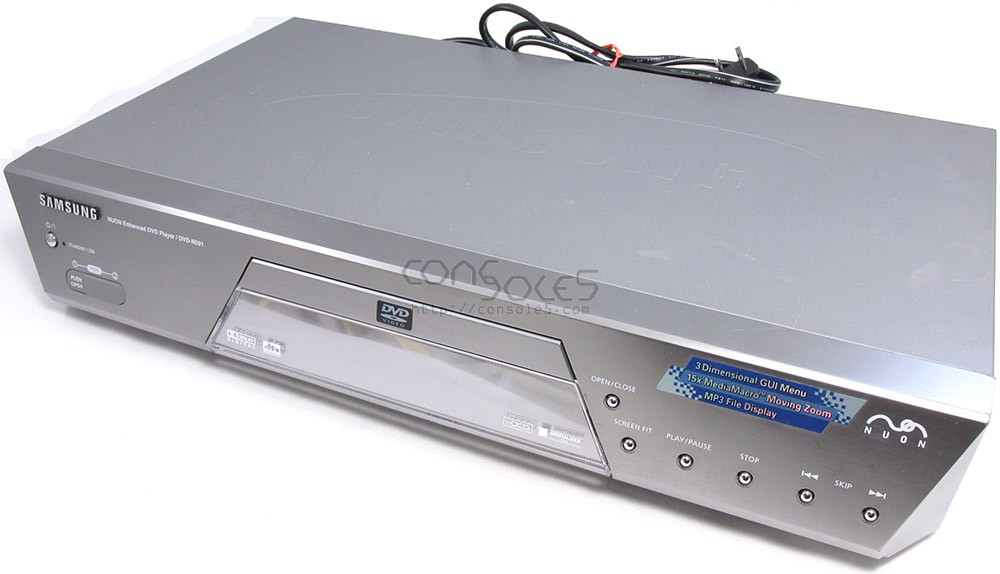 Samsung DVD-N501 Nuon DVD Player / Game System With Remote