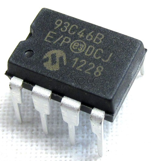 93C46 EEPROM for Atari Jaguar cartridge PCBs