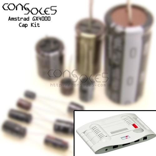 Amstrad GX4000 Cap Kit
