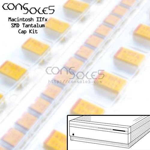 Macintosh IIfx SMD Tantalum and Axial Main PCB Cap Kit - 820-0282-B