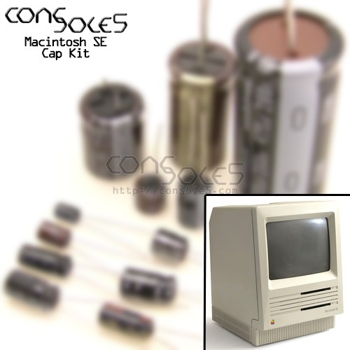 Macintosh SE & SE FDHD Nichicon VX Axial Electrolytic Cap Kit