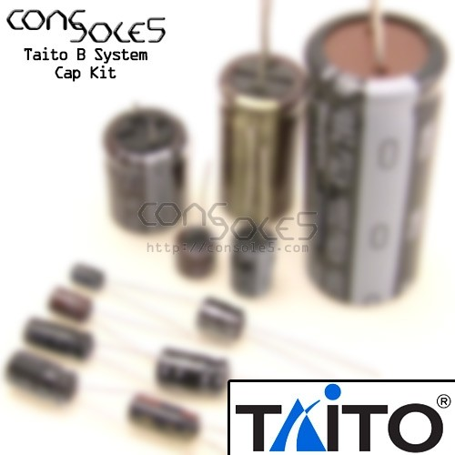 Taito B System Arcade Main PCB Cap Kit
