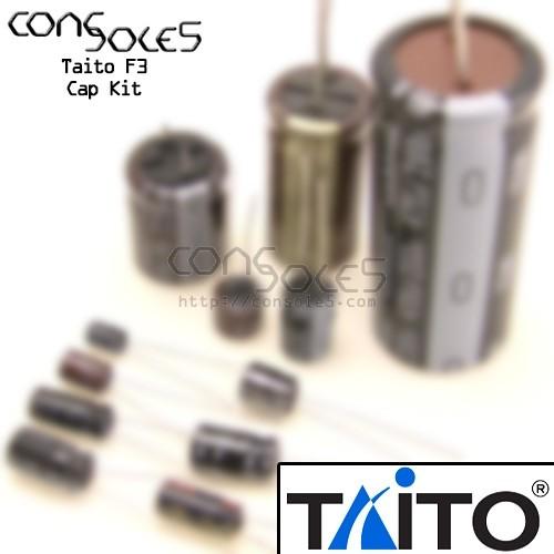 Taito F3 Arcade Main PCB Cap Kit