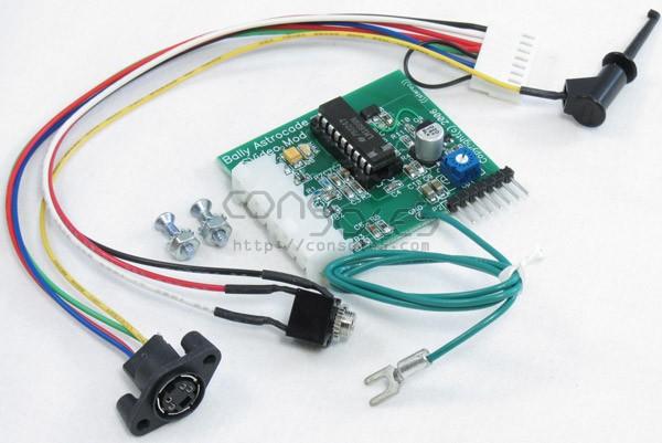 Bally Astrocade S-Video Modification Circuit Kit