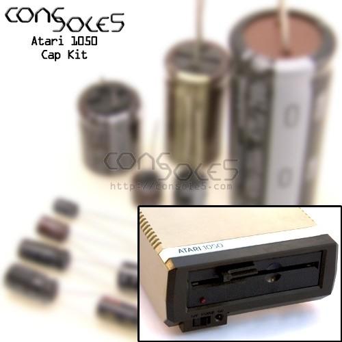 Atari 1050 Floppy Disk Drive Cap Kit
