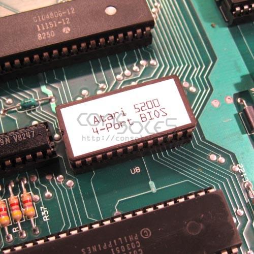 Atari 5200 - 4 Port BIOS Chip (for 2 Port Consoles)