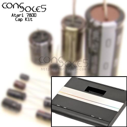 Atari 7800 Cap Kit
