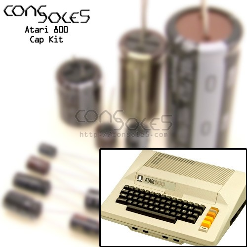 Atari 800 Computer Cap Kit