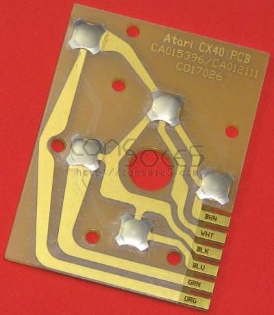 Atari CX40 Joystick PCB - Gold