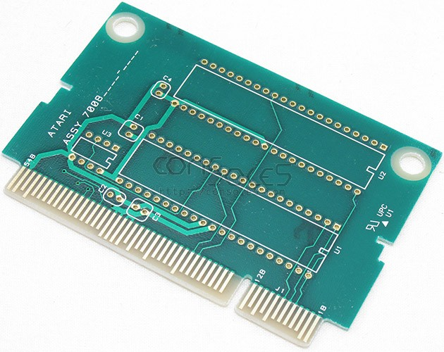 Atari Jaguar EPROM bare cartridge PCB - 2x16MB