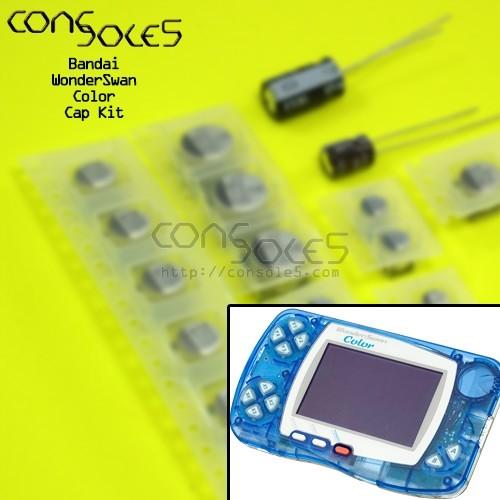 Bandai WonderSwan Color SMD Cap Kit
