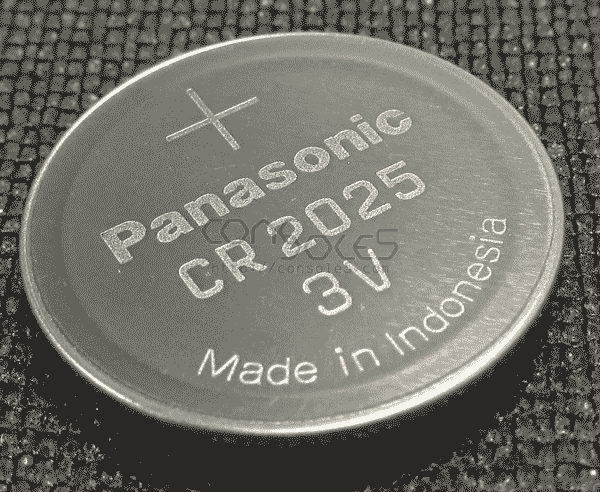 Panasonic CR2025 3V Lithium Battery (non-solder, for holders)