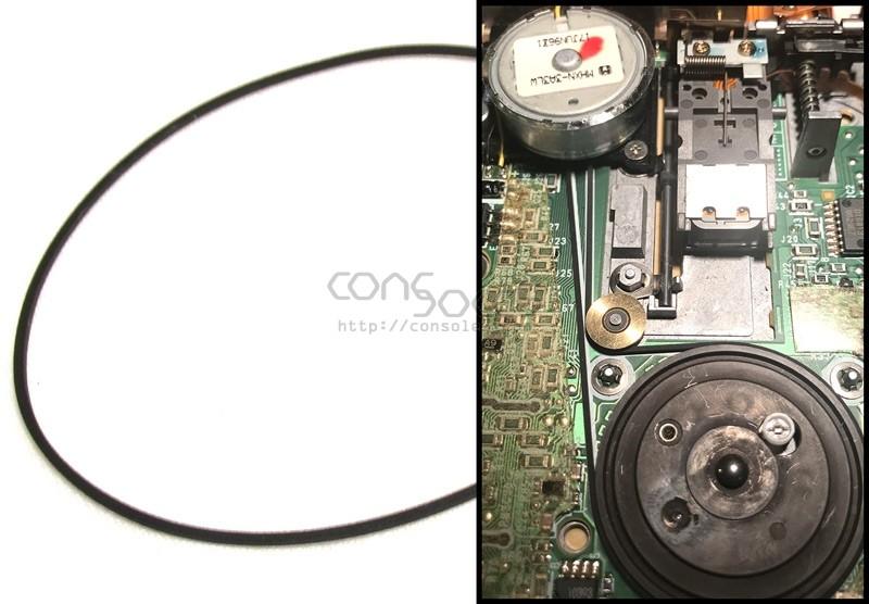 Matsushita EME-279TC Floppy Drive Belt (Toshiba Satellite CS110)