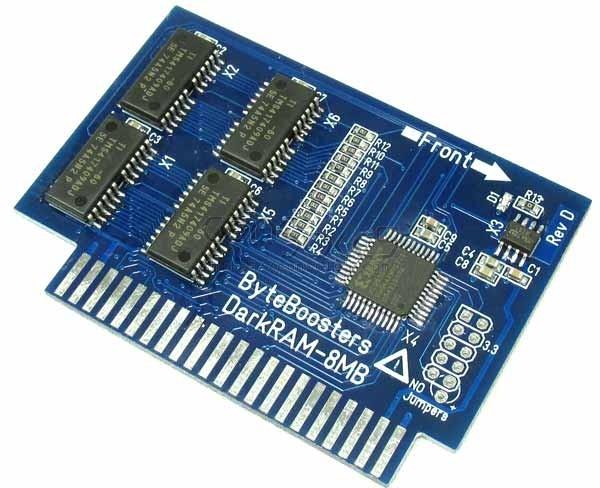 ByteBoosters 8MB DarkRAM Apple IIgs Memory Expansion Card 2GS