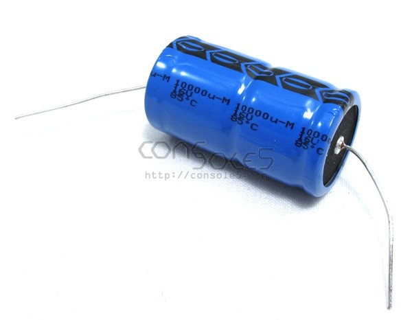 10000uF 16v Axial Vishay Electrolytic Capacitor, 8000 Hrs 85°C 10,000uF