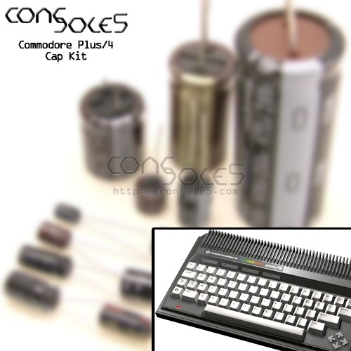 Commodore Plus/4 Cap Kit: ASSY 250455, 310163, 310164 - Plus4