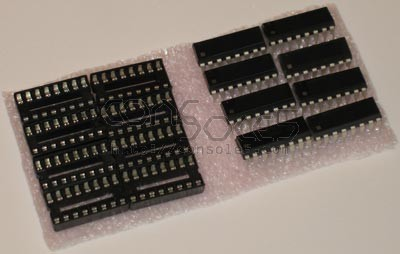 Colecovision +5V Memory Upgrade Kit 5v RAM VRAM
