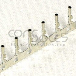 Miniature Crimp Pins for DIN / MiniDIN Jacks, Plugs, and Sockets