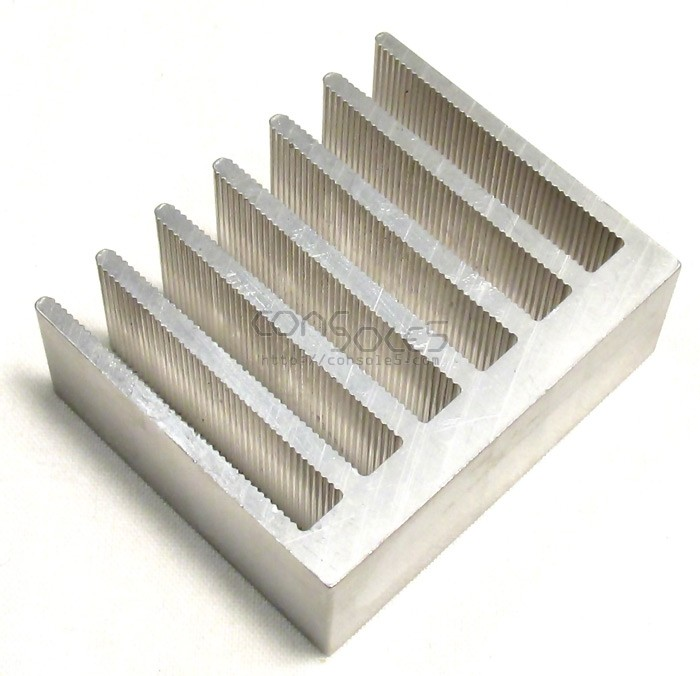 DIP40 COLOSSUS Aluminum Heat Sink: HUGE Epoxy On DIP 40
