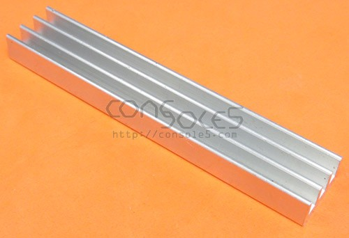 "DIP64 3"" Aluminum Heat Sink Glue On / Epoxy On Compact Style DIP 64"