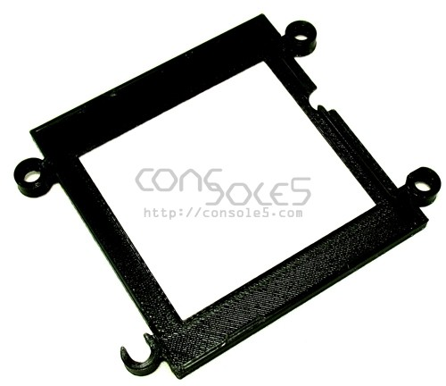Mounting Bracket for FunnyPlaying DMG RETRO PIXEL IPS LCD KIT - Black Filament