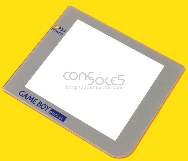 FunnyPlaying GLASS GBP Game Boy Pocket retro pixel IPS Glass Lens - Limited Grey