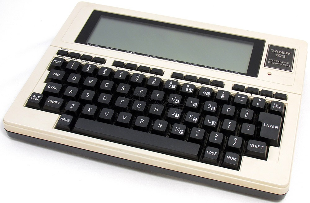 Tandy TRS-80 Model 102 Portable Computer, Case, Manual (26-3803)