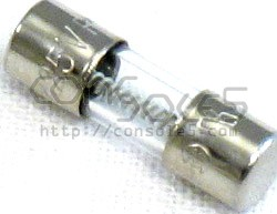 Fuse: 125V 5A for fuse holders (15mm)