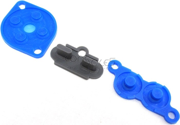 NES Replacement Controller Silicone Rubber Carbon Dot Pads