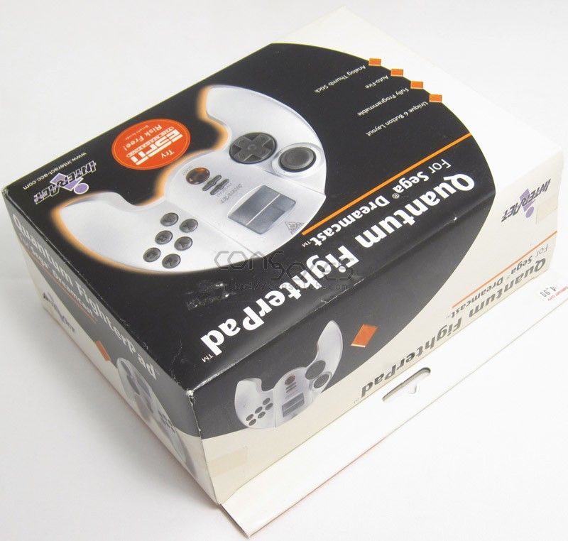 Quantum Fighterpad for Sega Dreamcast (NEW)