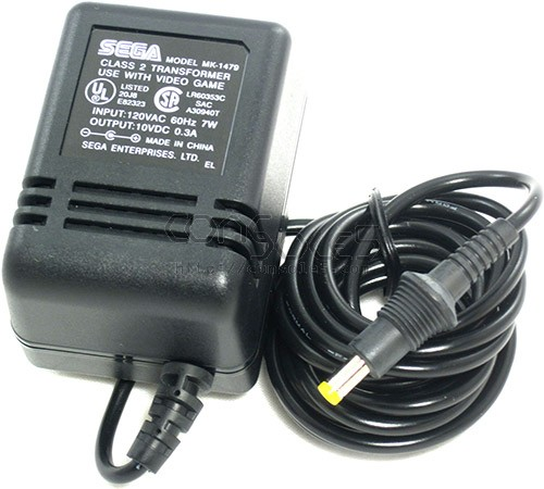 Oem Sega Ac Power Adapter Supply For Genesis 3 Mk 1479