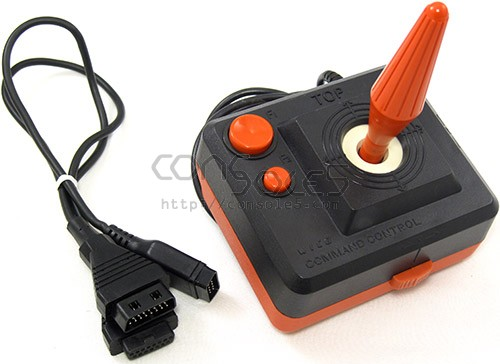 Wico Command Control Joystick for Atari 5200 - Includes Y-Cable