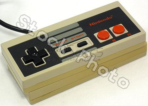 NES Controller (Original, NES-004) B STOCK