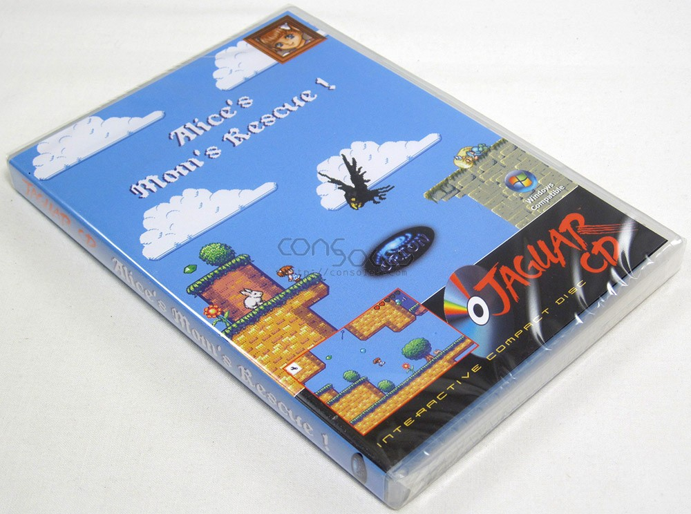 Alice's Mom's Rescue - 2015 Release! (Atari Jaguar CD)