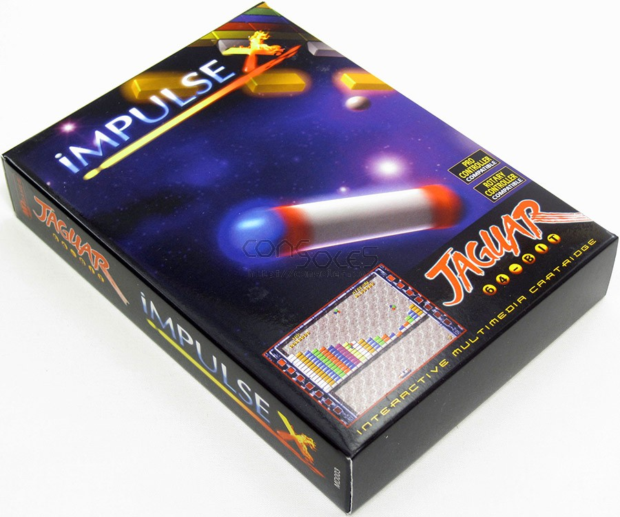 Impulse X - 2013 Release! (Atari Jaguar Cartridge)