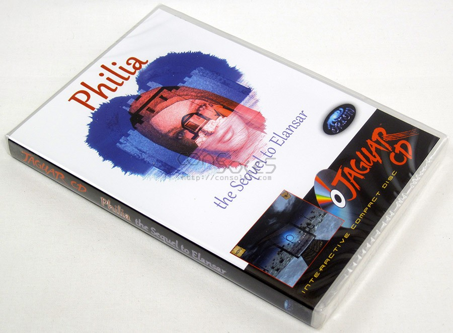 Philia: The Sequel to Elansar - 2014 Release! (Atari Jaguar CD)