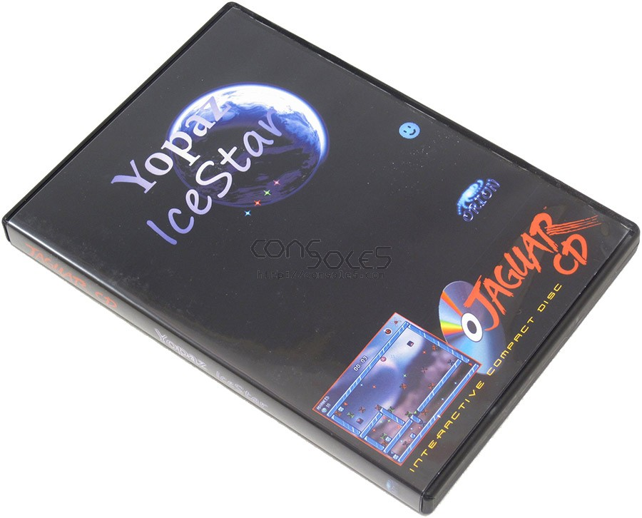 Yopaz: IceStar CD - 2014 Release! (Atari Jaguar CD)