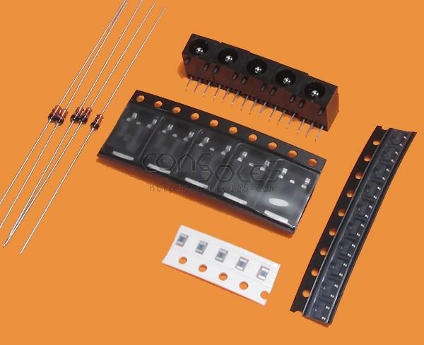 5 Pack: Atari Lynx Voltage Regulator Rebuild / Refresh Tune-Up Kit