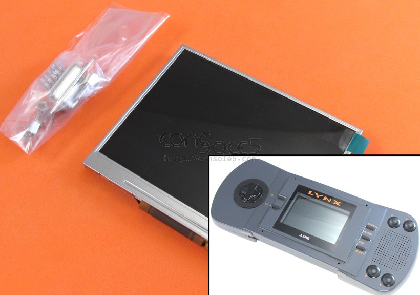 McWill LCD Upgrade Kit for Atari Lynx I (Original, version 1)