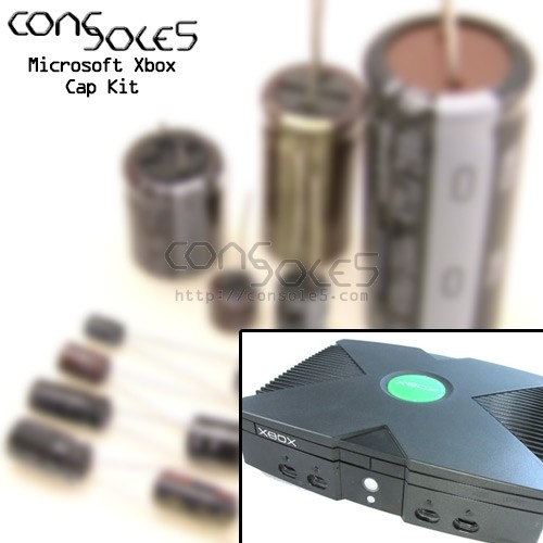 Microsoft Xbox Original Cap Kit - v1.0 through v1.6 - OG Xbox