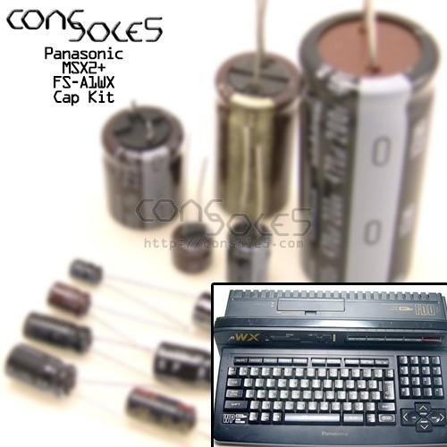 MSX - Panasonic FS-A1WX MSX2+ Cap Kit