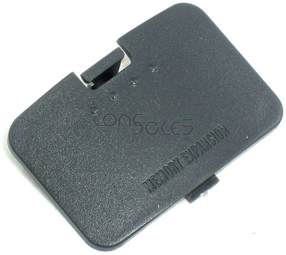 Nintendo 64 N64 Replacement Memory Expansion Cover / Door (Dark Grey/Black)