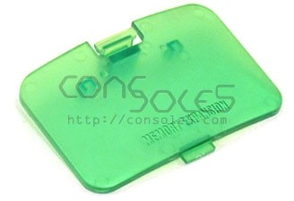Nintendo 64 N64 Replacement Memory Expansion Cover / Door-Jungle Green