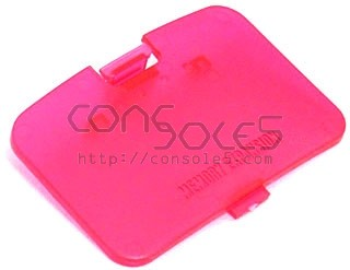 Nintendo 64 N64 Replacement Memory Expansion Cover / Door-Watermelon Red