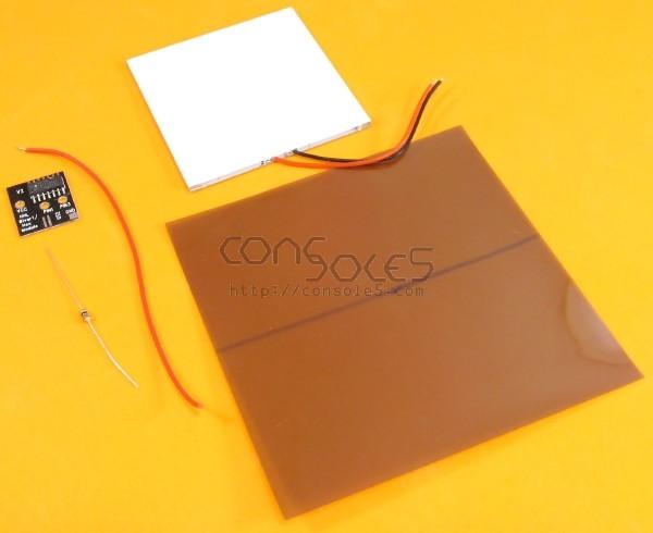 Game Boy DMG/Pocket Bivert LCD Mod Kit - Includes Light Module, Film, PCB