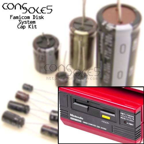 Famicom Disk System Cap Kit
