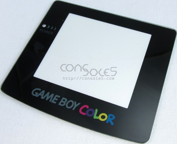 GLASS Game Boy Color New Replacement Lens / Screen Cover